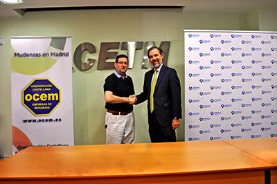 OCEM y ATRADICE se fusionan para liderar el sector del transporte en Madrid