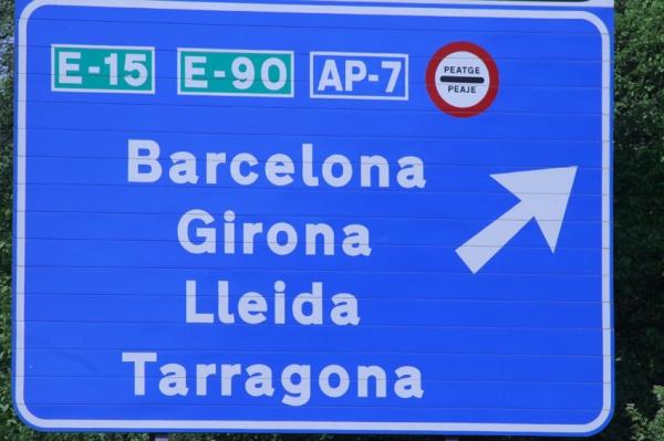 Enésimo caos circulatorio en Cataluña
