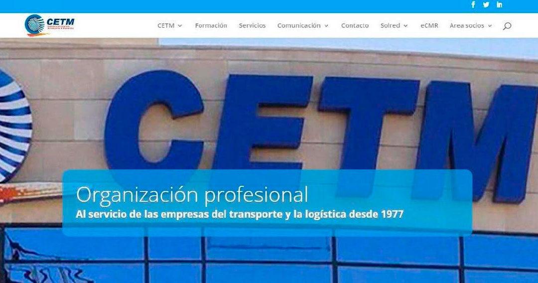 LA CONFEDERACIÓN ESPAÑOLA DE TRANSPORTE DE MERCANCÍAS LANZA NUEVA WEB