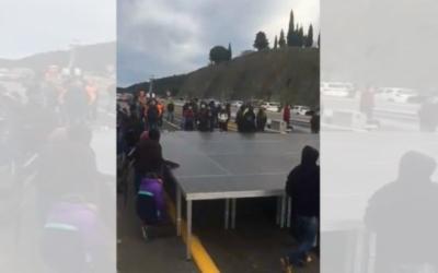 LOS INDEPENDENTISTAS VUELVEN A CORTAR LA JONQUERA