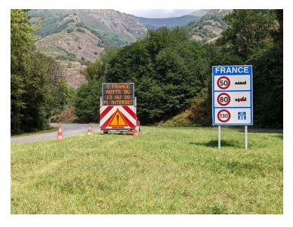 Prohibición de circulación para los vehículos pesados en la RN-125 en Francia las noches del 13 al 16 de septiembre