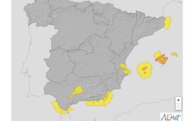La AEMET alerta de la llegada de una nueva DANA que dejará precipitaciones intensas y persistentes en la Península y Baleares